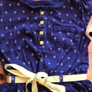 Carter's Dresses - Carters navy anchor dress